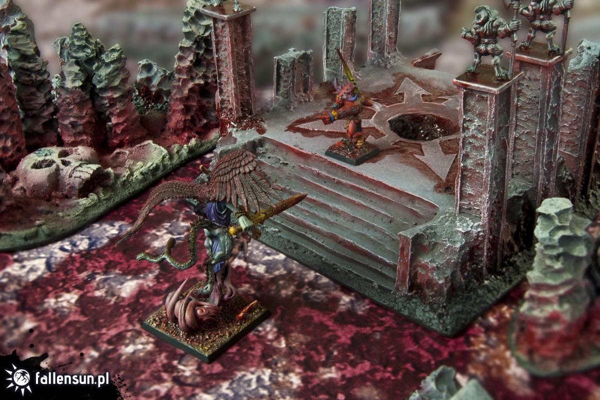 Terrain WFB - Terrain Warhammer - Daemons - Chaos Wastes - Far North - Daemon Dimension - Realm of Chaos - Realm of FallenSUN