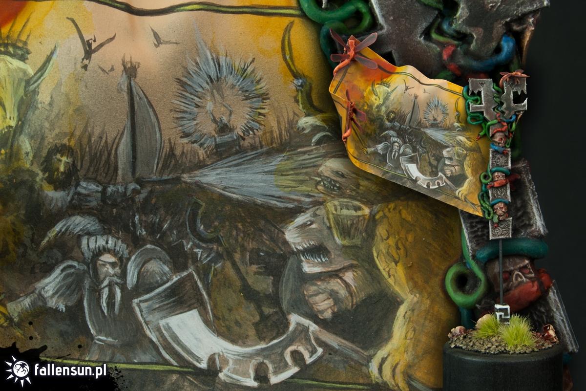 Totem of Prophecy - Warhammer - Lizardmen - Battle Standard Bearer - BSB - Banner - 6th Edition - WFB
