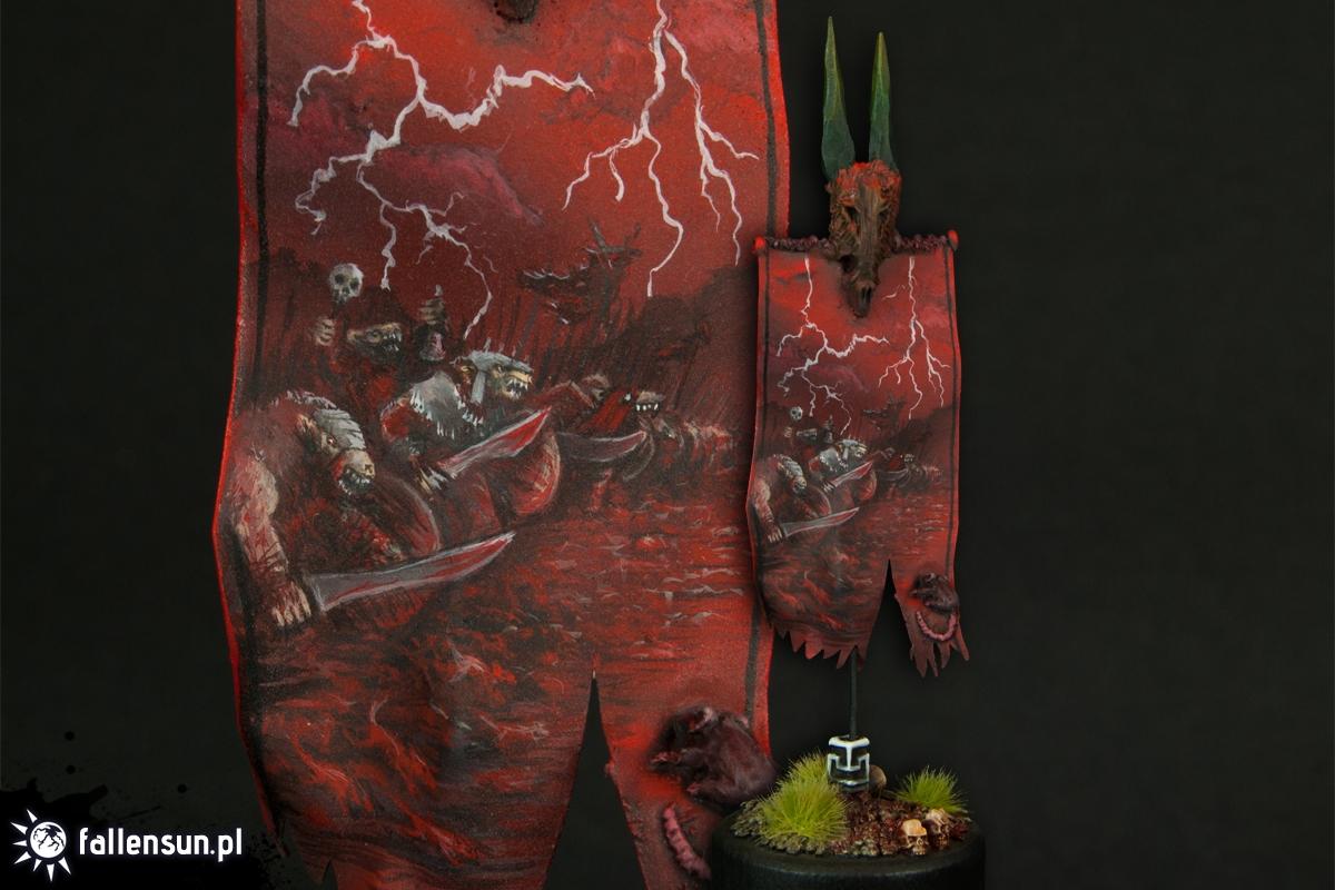 Storm Banner - Warhammer - Skaven - Battle Standard Baerer - BSB - Banner - 6th Edition - WFB
