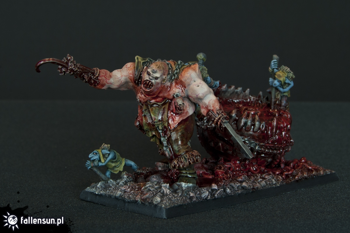 FallenSun -  Warhammer - Ogre Kingdoms - 6th edition - Skrag The Slaughterer - Butcher - Ogre