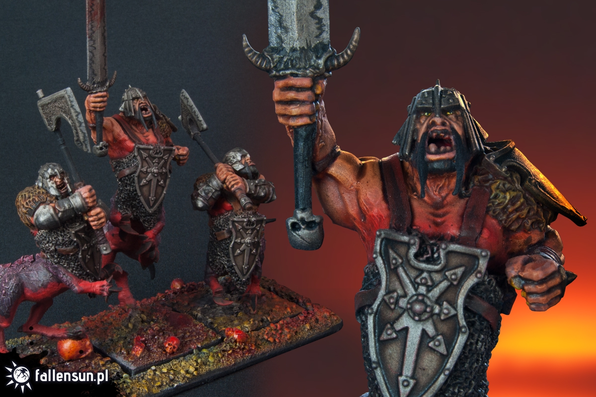 Dragon Ogres - Warhammer - FallenSun - 6th edition - Mortals of Chaos - Beasts of Chaos - Chaos - Realm of Chaos - Middlehammer - Oldhammer