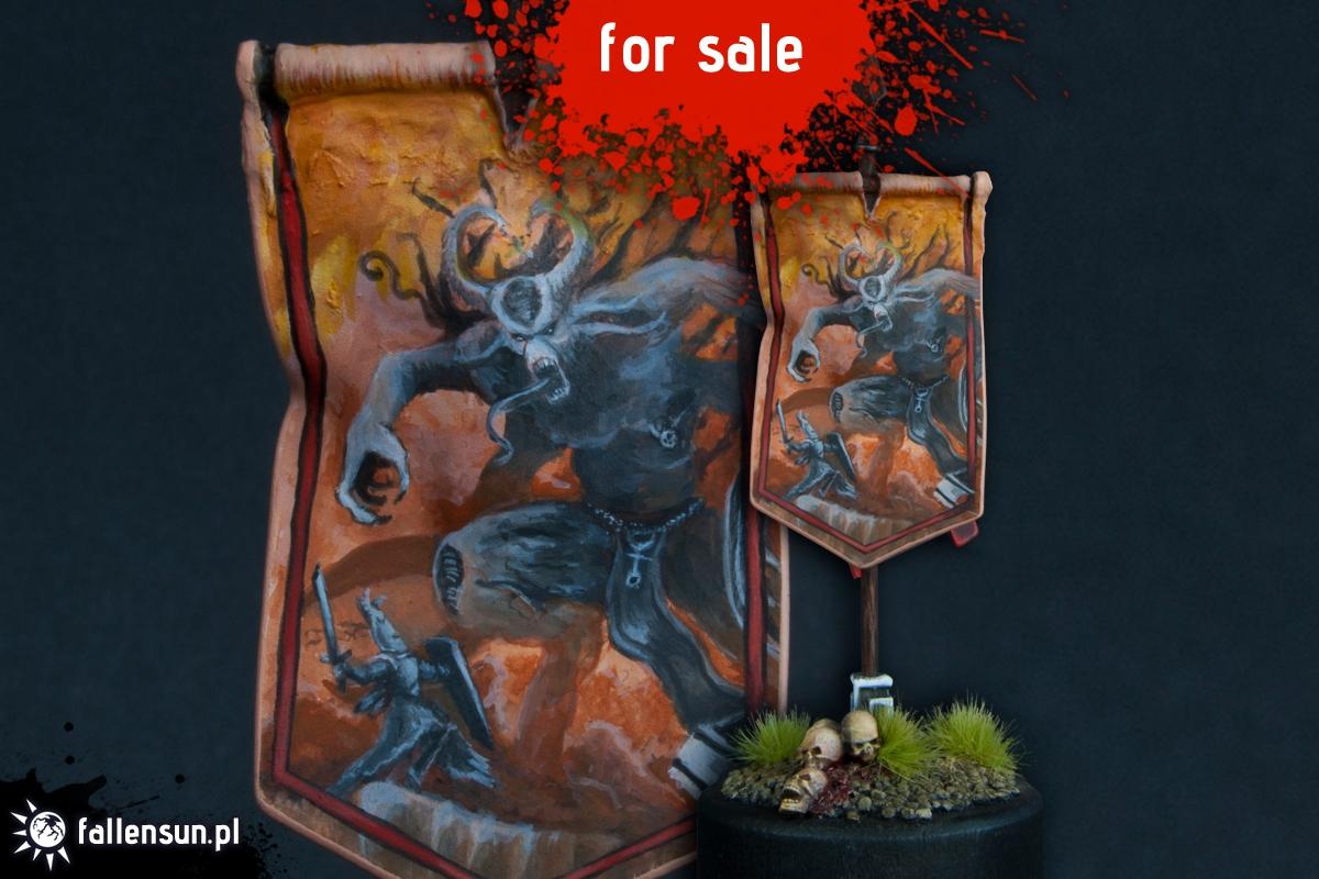 Aenarion the Ever Brave Banner - Warhammer - High Elves - Aenarion - Daemons - Chaos - Slaanesh
