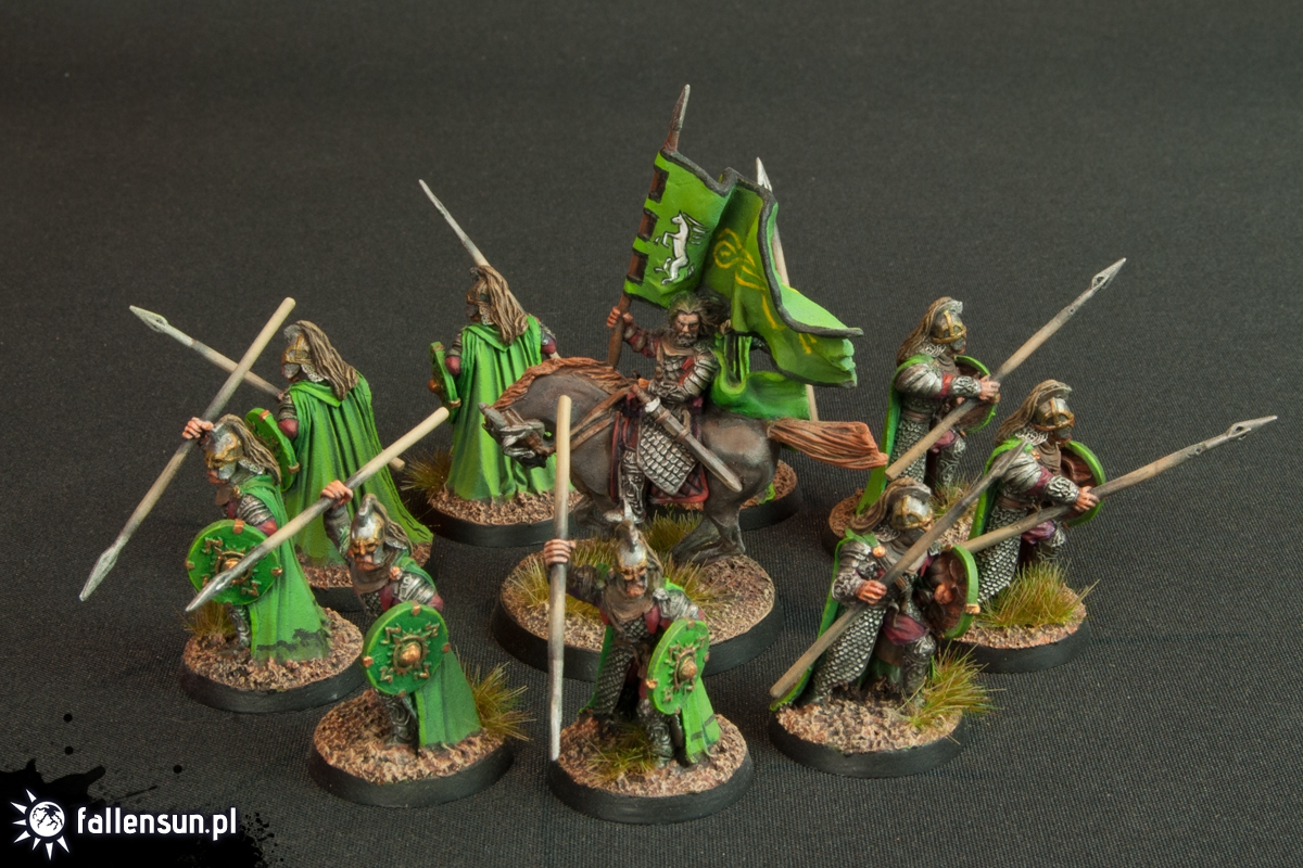 The Ride of the Rohirrim - Rohan - Lord of the Rings - Lotr - Games Workshop - Freehand - Tolkien - FallenSun - Two Towers - Pelennor fields