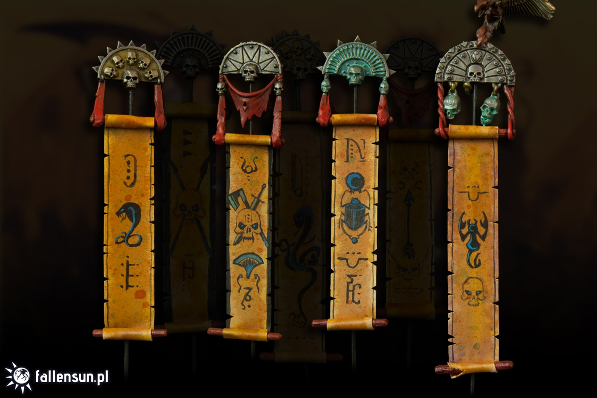 Tomb Kings - Scrolls of Incantation - Freehand - Khemri - Warhammer - 6th edition