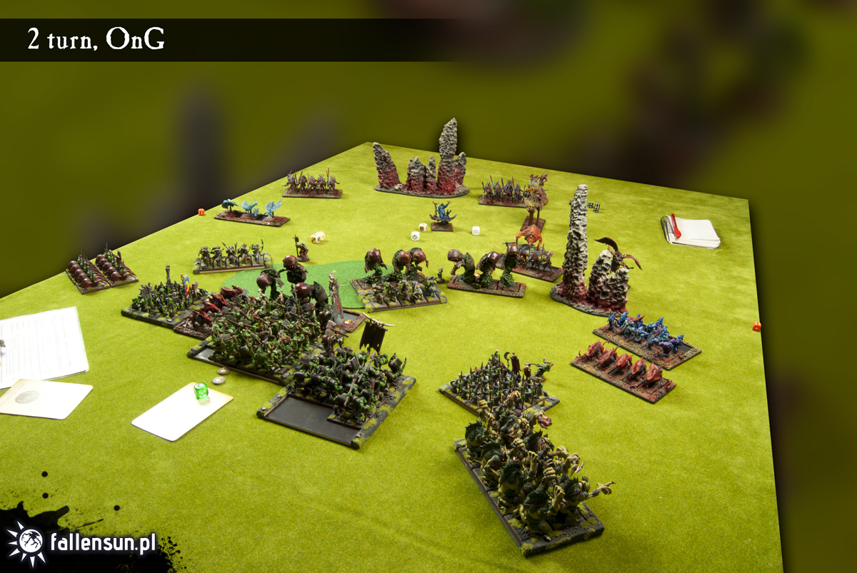 Warhammer 8th - Battle Report - Invasion